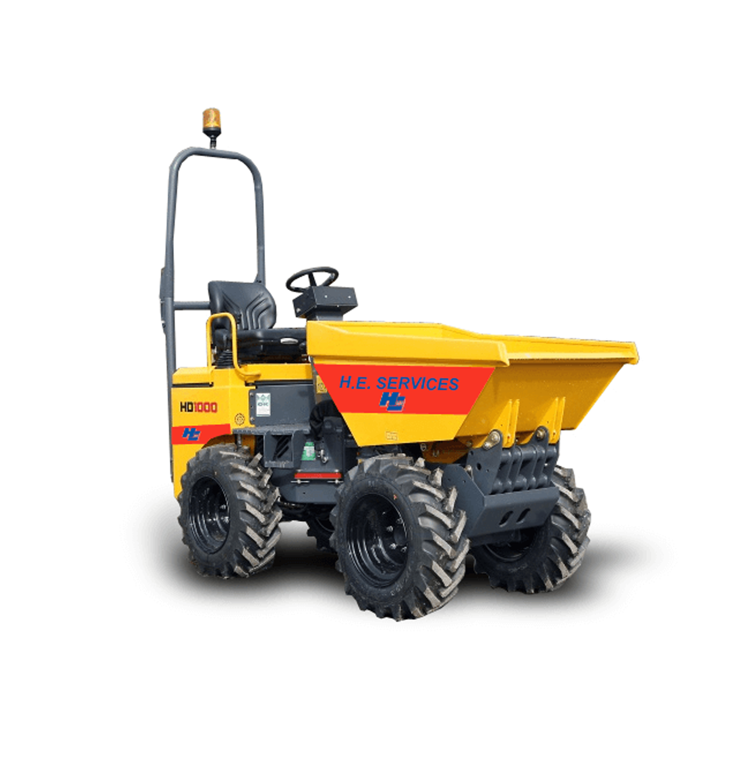1 to 10 ton Dumpers - Welcome to H  E  Services Plant Hire