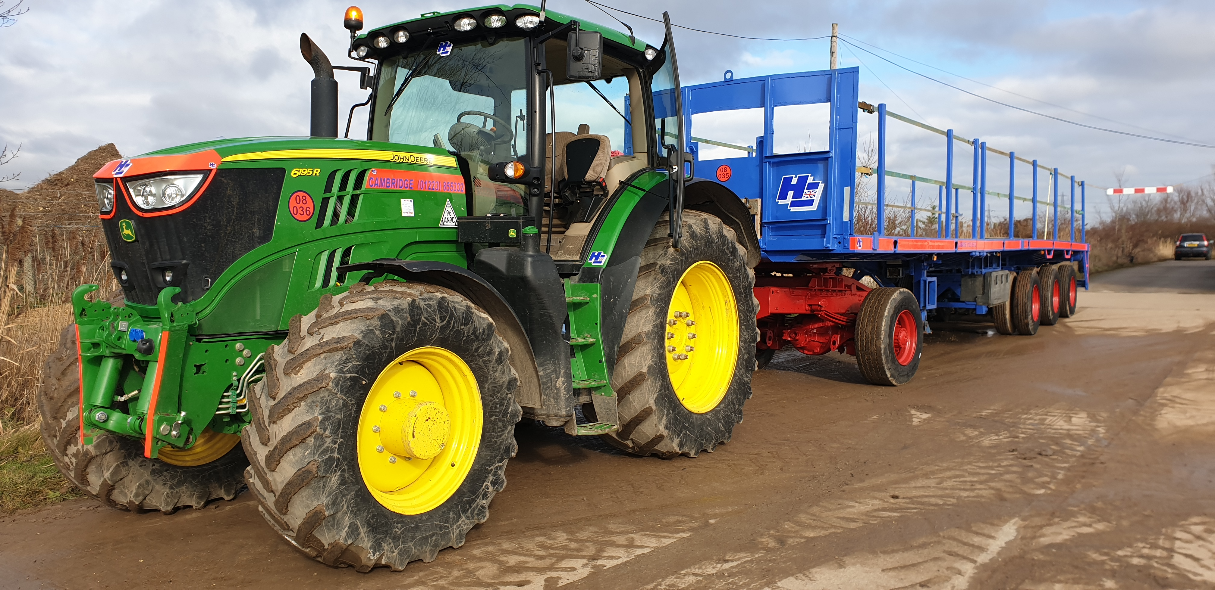 John Deere 6R Series Tractor Hire