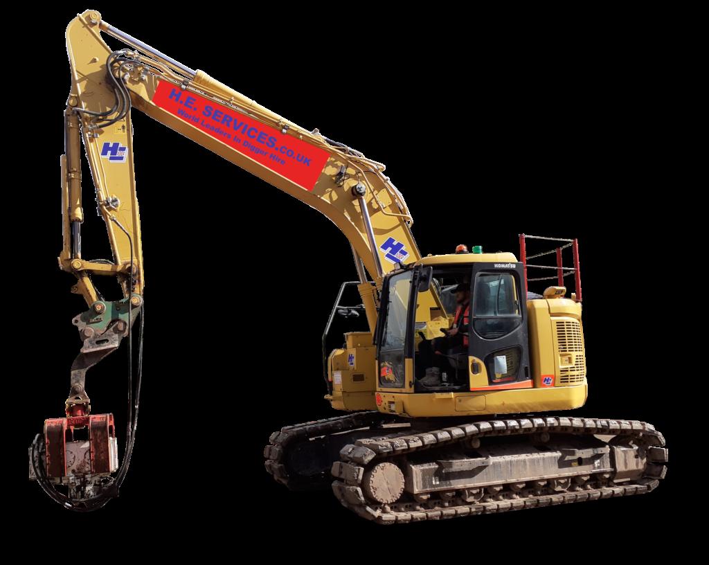 22 ton excavator