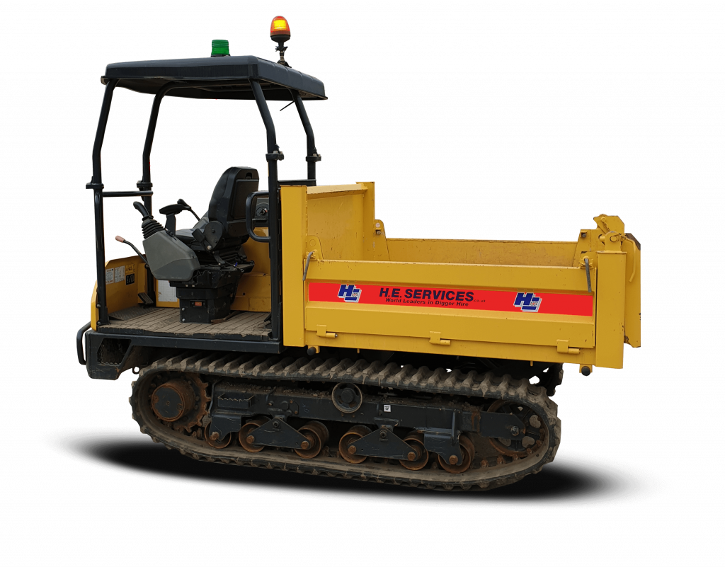 3 Ton Tracked Dumper Hire