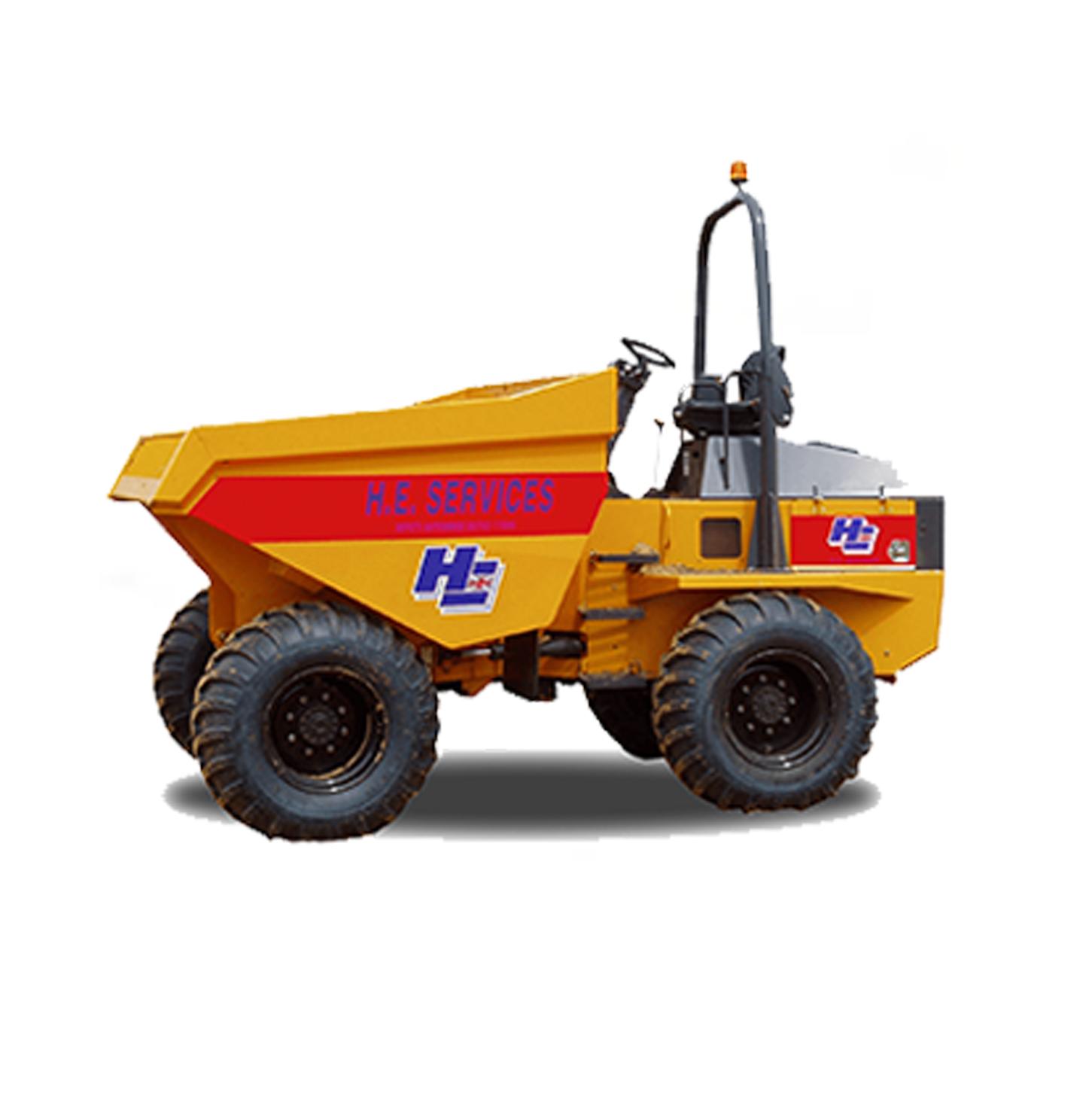 9 Ton Dumper H.E. Services
