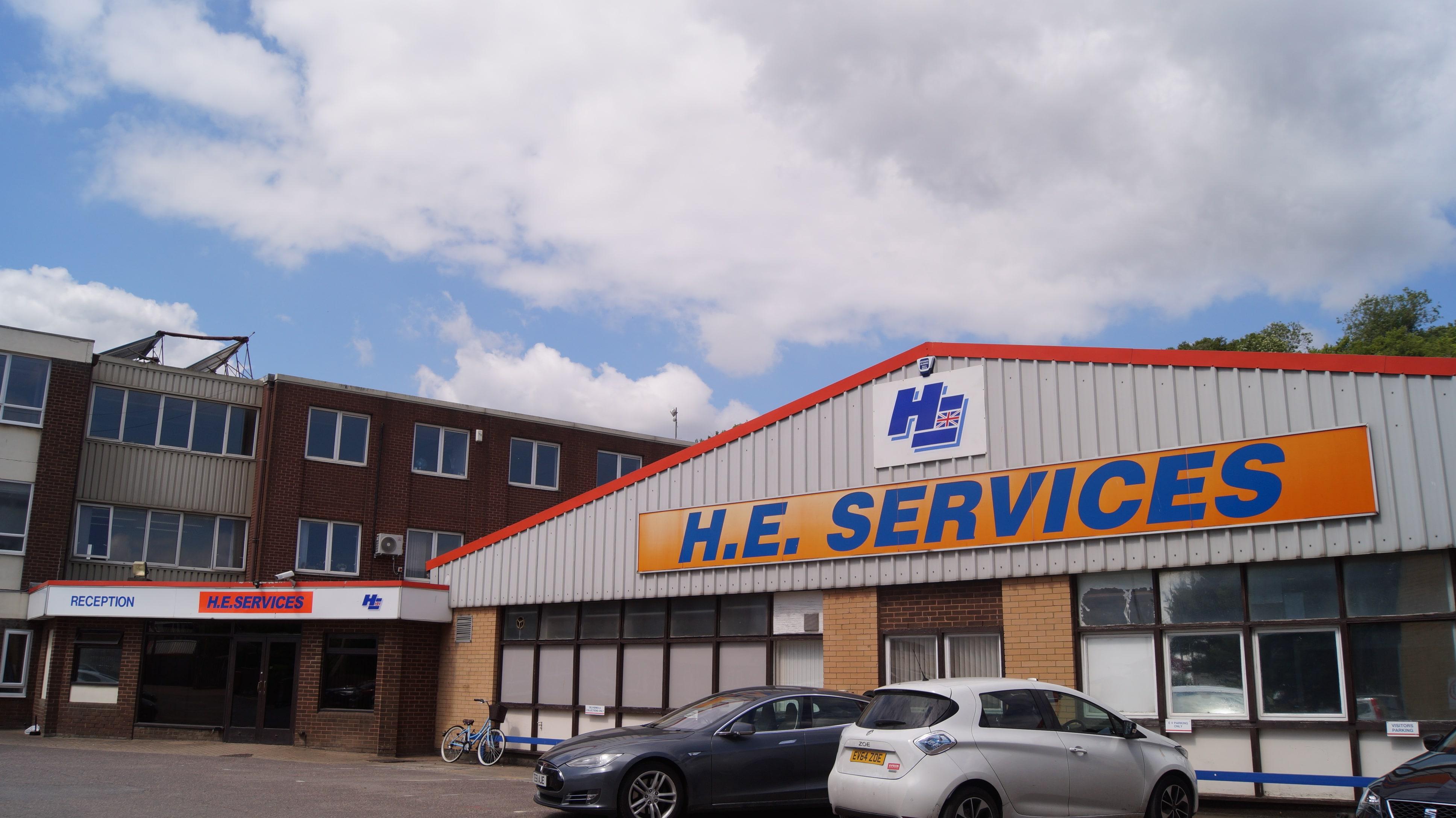 H.E.SERVICES (Plant Hire) LTD Largest UK Plant Hire Company