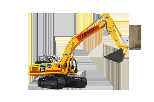 36 Ton Excavator Komatsu H.E. Services