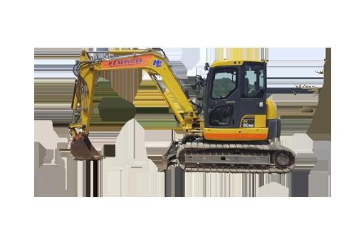Midi Diggers 8 Ton Excavator Komatsu