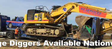 Digger Hire Uk