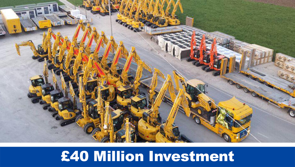 £40 Million Investments