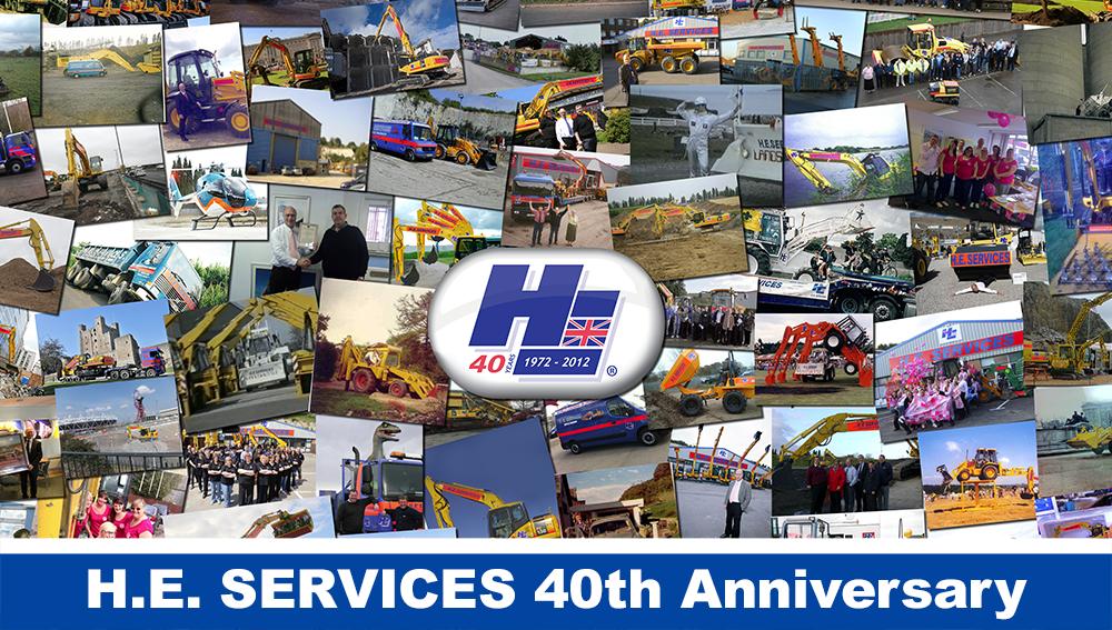 H.E. Services 40th Anniversary