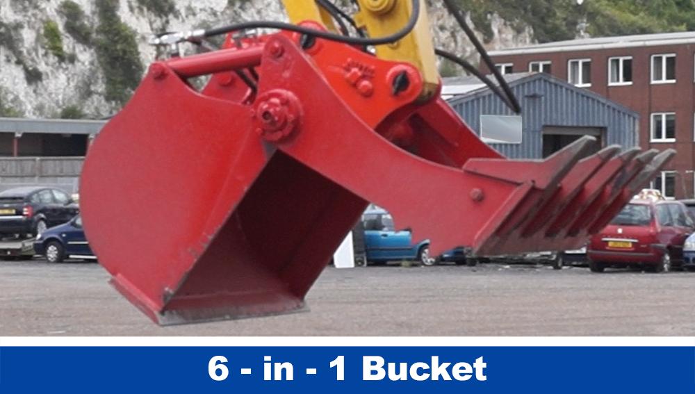 6-in-1 Buckets