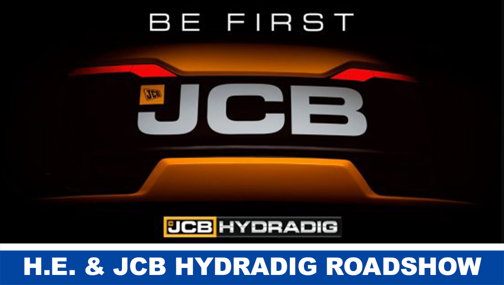JCB HYDRADIG ROADSHOW 2016