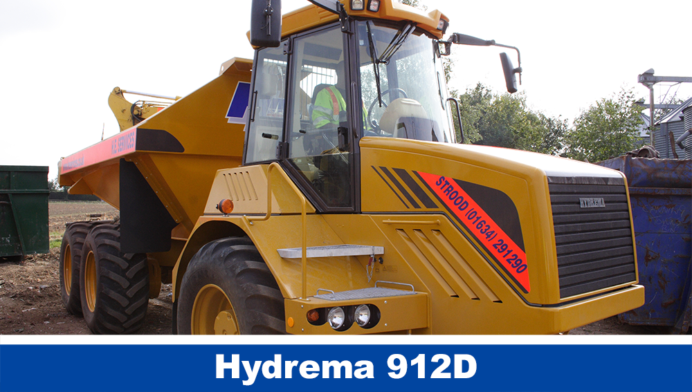 Hydrema Articulated Diggers