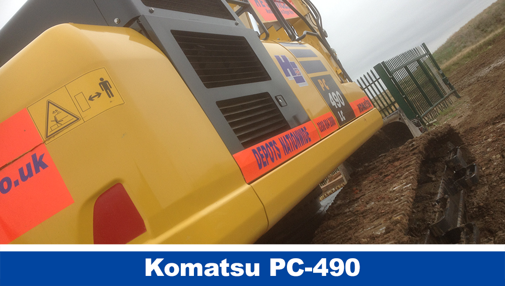 Komatsu PC490