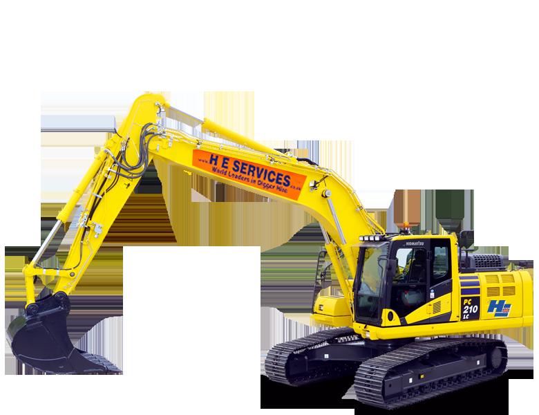 22 Ton Excavator Komatsu H.E. Services