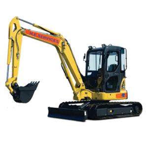 5 Ton Excavator Model: Komatsu PC55 MR-3 Midi Digger