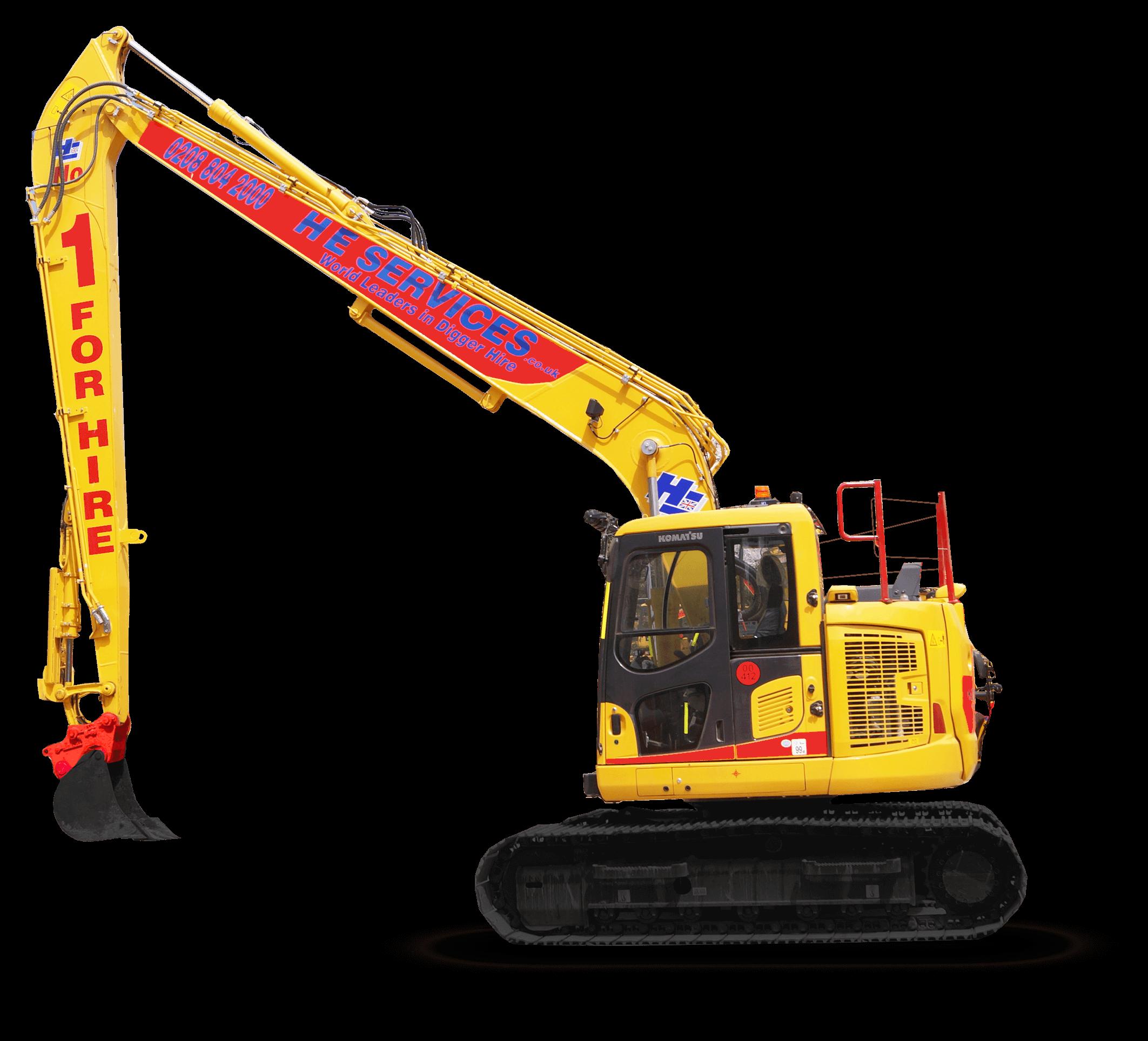 12meter Long Reach Excavator