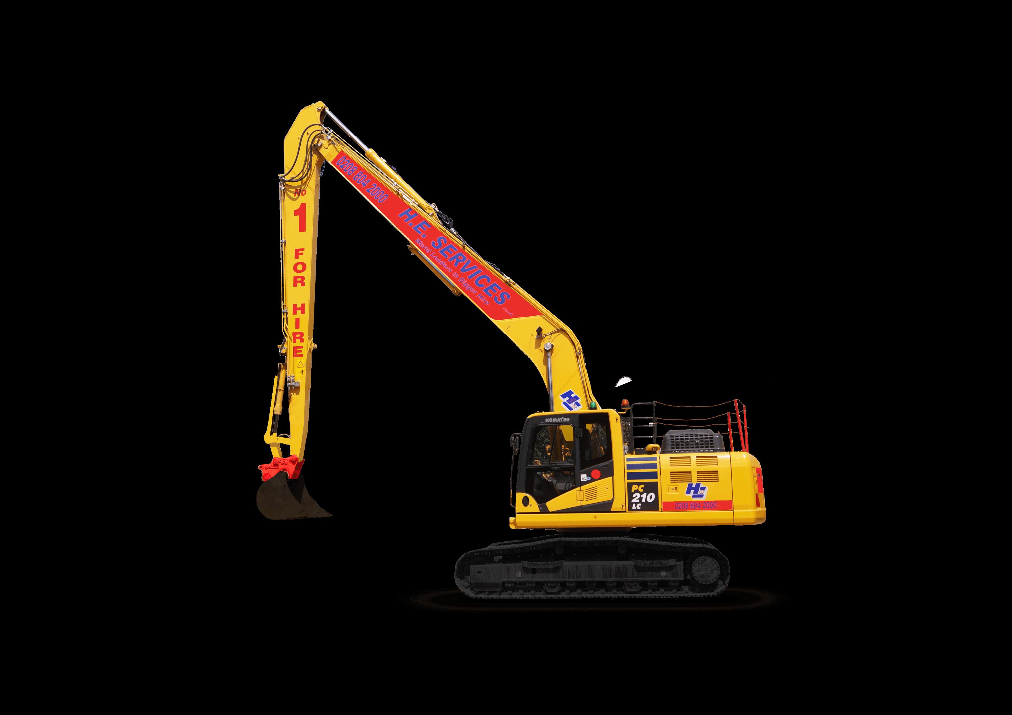 15 meter Long Reach Excavator
