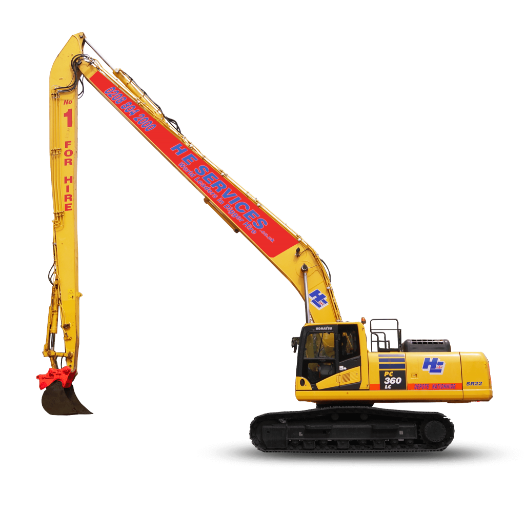 22 meter Long Reach Excavator