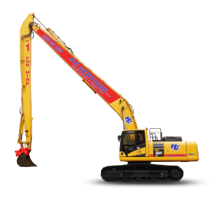 SR22 Long Reach Model: Komatsu PC 360 -10 Super Long Reach Digger Hire