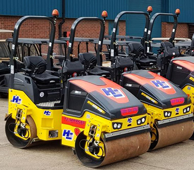 Hire a roller - plant hire