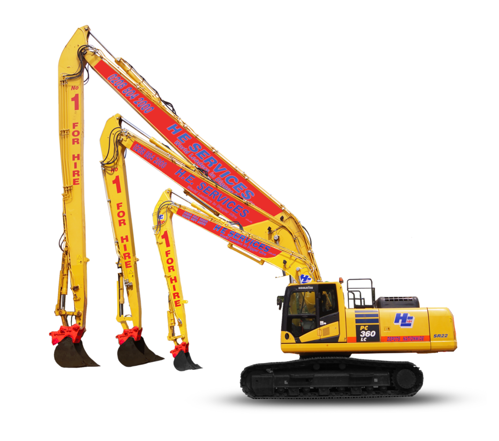 Long Digger hire