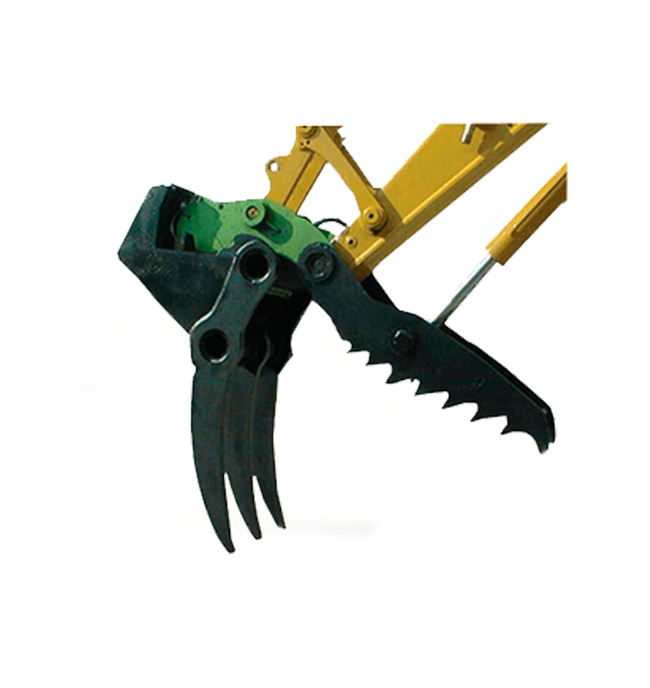 Master Claw Excavator Attachment