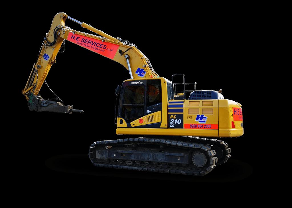22 Ton Excavator Hire
