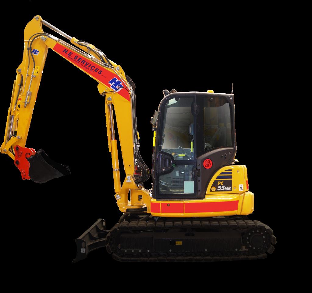 5 Ton Excavator Midi Digger