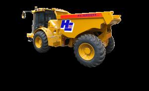 10 Ton Hydrema Dumper Hire