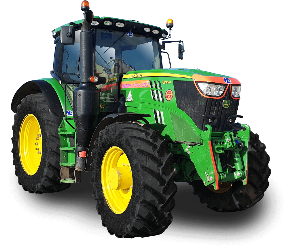 Hire a Tractor John Deere 6R Series Tractor