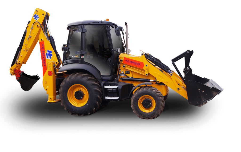 JCB 3CX Turbo High Speed Contractor hire