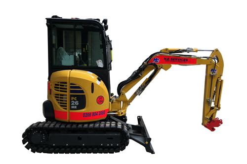 Mini Digger - 3 Ton Excavator Komatsu