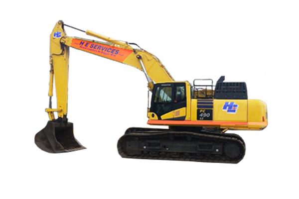 45 Ton Excavator Komatsu H.E. Services