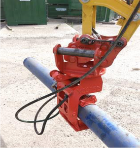 Free Rotating Pipe Handler H.E. Services