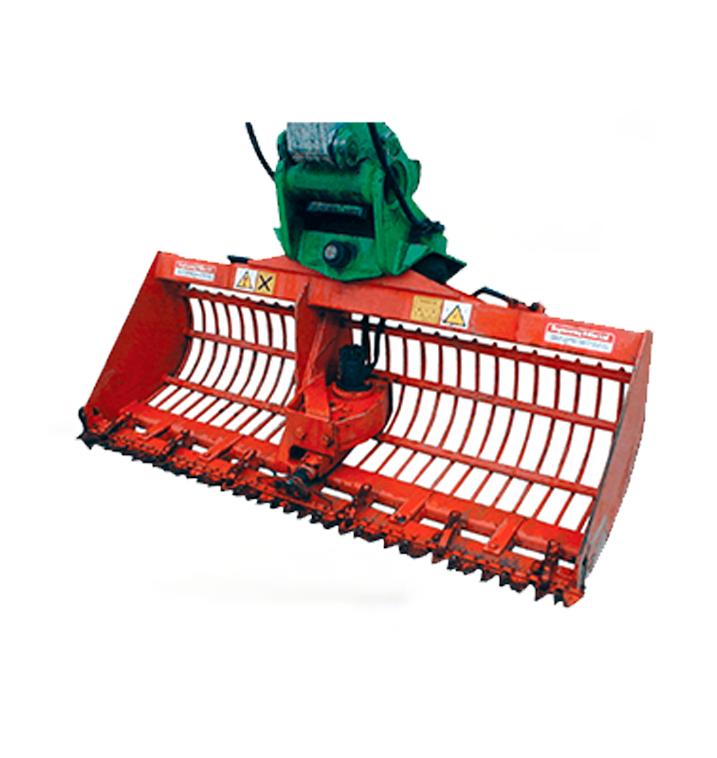 Reed Bucket Excavator Attachment