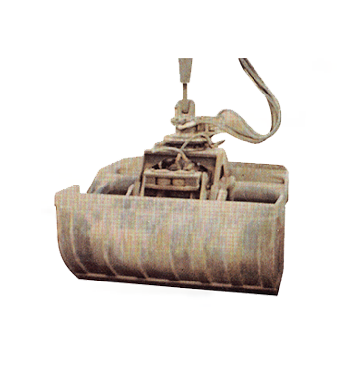 rehandling clamshell Excavator Attachment