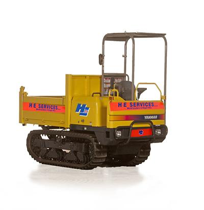 3 Ton Tracked Dumper H.E. Services